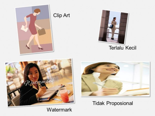 4 Cara Memilih Gambar Background Presentasi Power Point