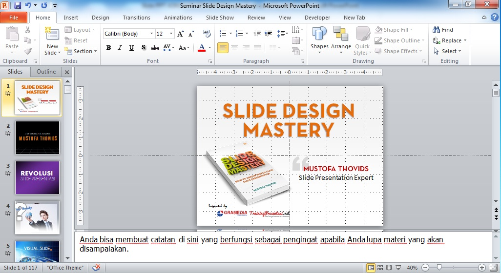 how to open presenter view in powerpoint